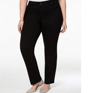 Lexington Tummy-Control Straight-Leg Jeans